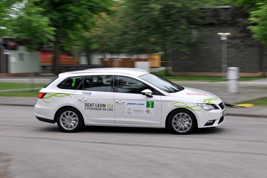 Vítězové uplynulých dvou ročníků New Energies Rallye - Jan Sedlák s Jiřím Mácou